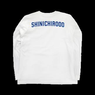 シンイチロォのおみせの爽やかロゴ!! Long sleeve T-shirts