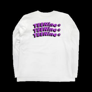 TEENINEのくねくねTEEN Long sleeve T-shirts