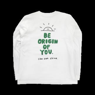 ORIGIN.のoriginT green Long sleeve T-shirts