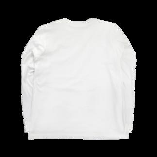 hiroyukimpsのoyazi Long sleeve T-shirtsの裏面