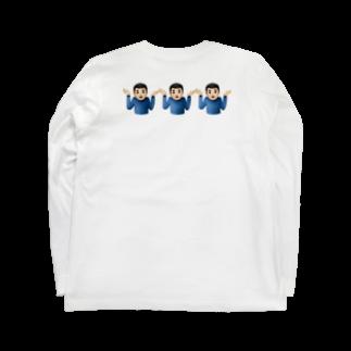 ta_i_piのWhy? Long sleeve T-shirts