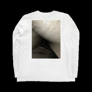せーきゅーの店の落ちたねこ Long sleeve T-shirts