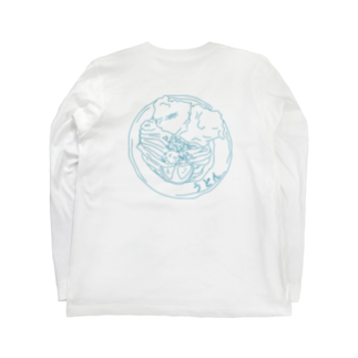 monutoonのうどん Long sleeve T-shirts