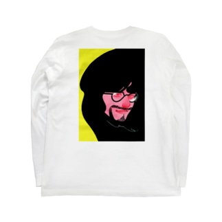 赤 Long sleeve T-shirts
