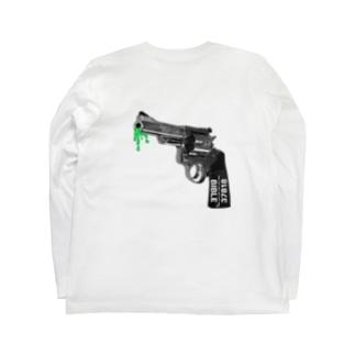 グービーガン バックプリント Long sleeve T-shirts