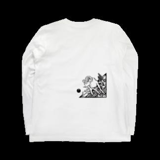 nvivetoのネイチャーシリーズ ビックホーンシープ ~Nature series Bighorn sheep~ Long sleeve T-shirts