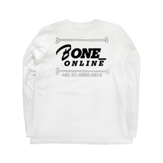 ほねほね Long sleeve T-shirts