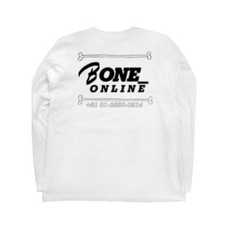 BONE_ONLINEのほねほね Long sleeve T-shirtsの裏面