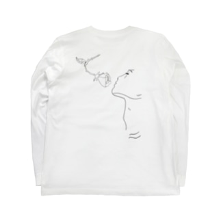 薔薇の香り Long sleeve T-shirts