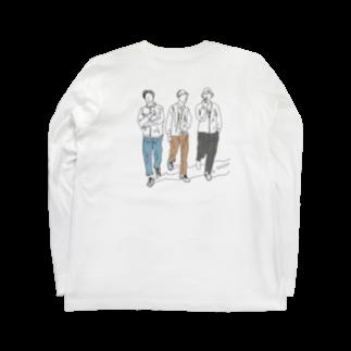 peachykeenのstreet boys Long sleeve T-shirts