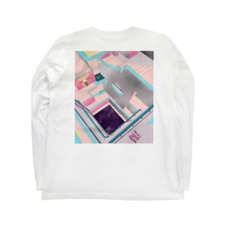 Go with the 風呂(黄ヒヨコ) Long sleeve T-shirts