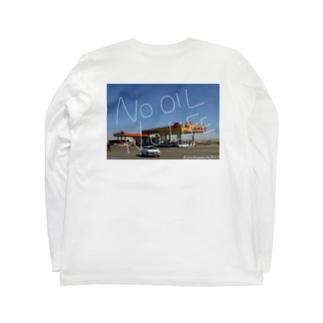 オイルチャージ Long sleeve T-shirts