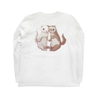 ポニョ蘭丸1 Long sleeve T-shirts