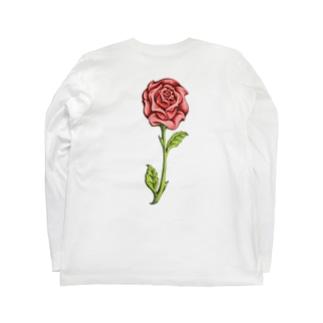【X ROSE X】 Long sleeve T-shirts
