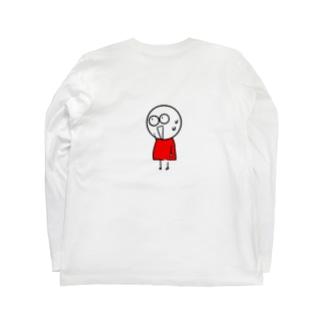 チビィズ(赤) Long sleeve T-shirts