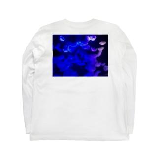 クラゲシリーズ2 Long sleeve T-shirts