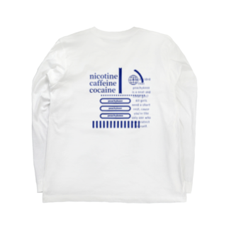 hina moritaのあお Long sleeve T-shirts
