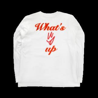 whatsupstudioのwhatsup Long sleeve T-shirts