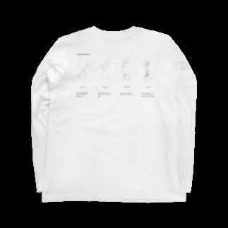 TatsumiSantaのC-diagram Long sleeve T-shirtsの裏面