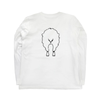 おしり干支シリーズ_未ver. Long sleeve T-shirts