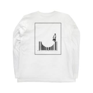 datsuのバースケート Long sleeve T-shirts