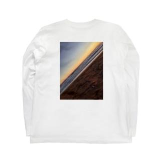ロン T(斜めロゴ) Long sleeve T-shirts