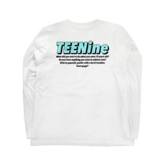 バックプリントTEENine3 Long sleeve T-shirts