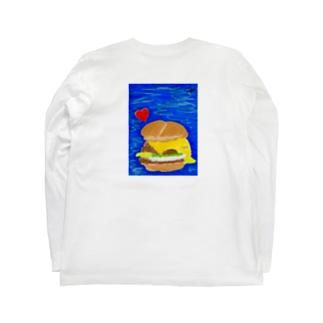 LA humberger Long sleeve T-shirts