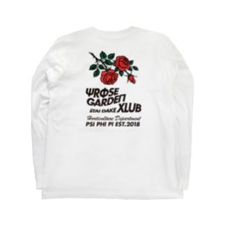 ローズガーデンクラブHorticulture Department  Long sleeve T-shirts