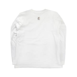 8にゃんむらがり Long sleeve T-shirts