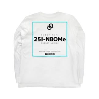 ooomm - ロングスリーブTシャツ(色覚特性series vol.1) ロングスリーブTシャツ Long sleeve T-shirts