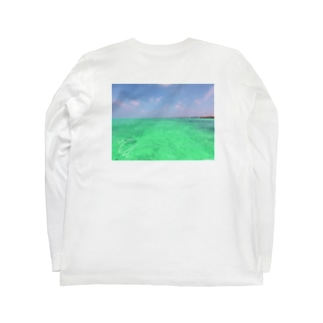 SUP*マリンブルー Long sleeve T-shirts