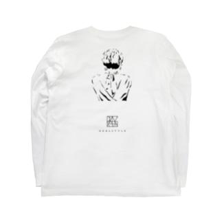 白黒 Long sleeve T-shirts