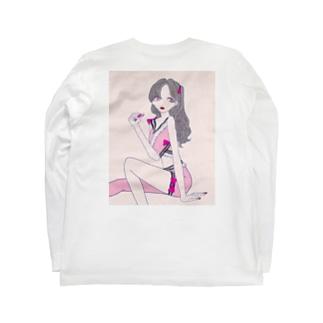 毒盛少女 Long sleeve T-shirts