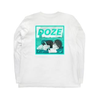 微睡み Long sleeve T-shirts
