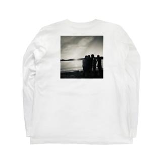 日出青春 バックプリントTシャツ Long sleeve T-shirts