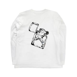 emble(m).   zippo t Long sleeve T-shirts