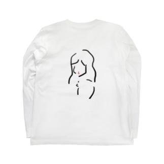 貴女 Long sleeve T-shirts