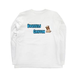 ブリュッセル・グリフォン Long sleeve T-shirts