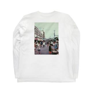 #喧騒 Long sleeve T-shirts