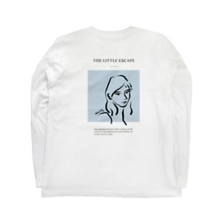 Lukewarm_blue Long sleeve T-shirts