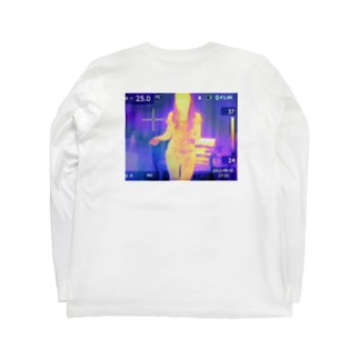 サーモグラフィ Long sleeve T-shirts