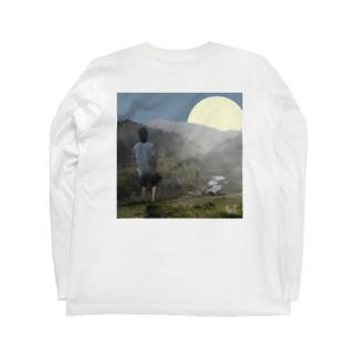 川遊び Long sleeve T-shirts