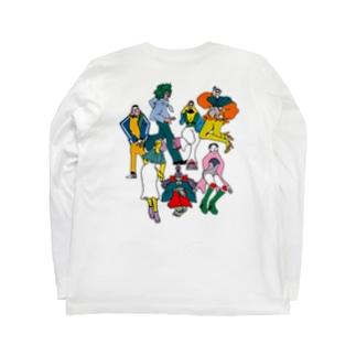 戦隊☆ Long sleeve T-shirts