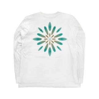 〔Back Print〕SURF FLOWER Long sleeve T-shirts