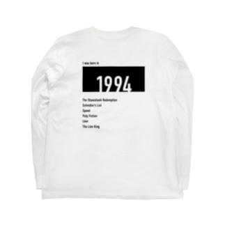 1994(black) Long sleeve T-shirts