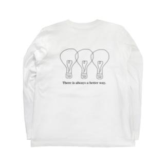 良き方法。 Long sleeve T-shirts