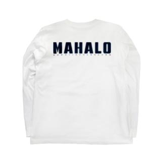 〔Back Print〕Just MAHALO Long sleeve T-shirts