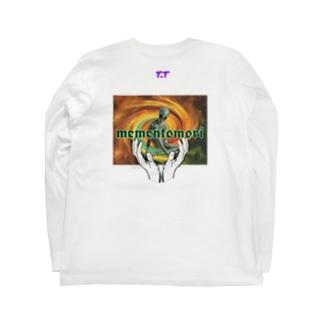 Praise the aliens Long sleeve T-shirts
