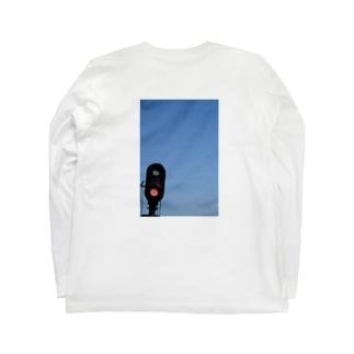 踏み切り Long sleeve T-shirts